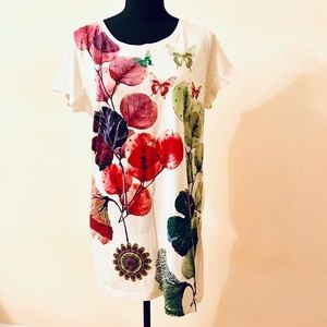 New DESIGUAL T-shirt women Size XL
